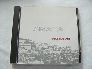 AMLIA COM QUE VOZ CD