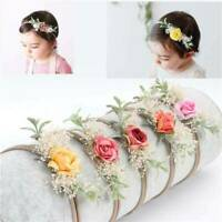 Baby Newborn Toddler Girls Headband Flowers Knot Headband Hair Accessories Gifts