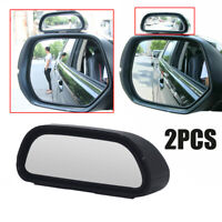 2x Blind Spot Wide Angle Adjustable Mirror Rear View Car Side Mirror Universal