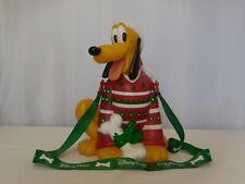 Disneyland 2018 Holiday Red Christmas Sweater Pluto Popcorn Bucket LIMITED EDITI