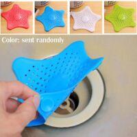 Star Drain Haarstopper Deckel Filter Silikon Spüle Sieb für Bad Küche