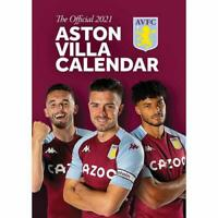 Aston Villa FC A3 Wall Format Calendar 2021 Official Licenced Product