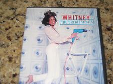 Whitney Houston: Greatest Hits DVD.