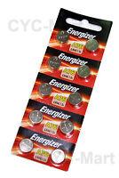 10 pcs x Energizer LR44 AG13 A76 Alkaline Batteries FREE registered post