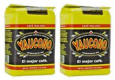 Cafe Yaucono Ground Coffee Puerto Rican 14 Oz Bags (Pack of 2)