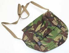 (1) HAND CRAFTED SHOULDER BAG MADE FROM ORIGINAL BRITISH ARMY SURPLUS CLOTHING