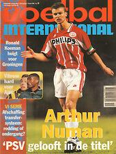 V.I. 1996 nr. 11 - EDGAR DAVIDS/BARCELONA-PSV/BORUSSIA DORTMUND-AJAX