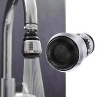 Swivel 360 Rotate Faucet Nozzle Filter Adapter Water Saving Tap Aerator Diffuser