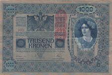 Billet banque AUTRICHE AUSTRIA 1000 KRONEN 1902 état voir scan 418