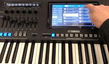 Schutzstickerset VOLUMEN DISPLAY und USB Schutz für YAMAHA GENOS Keyboard