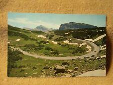 Vintage Postcard Going To The Sun Highway, Glacier National Park, Montana