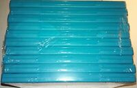 10 Official Nintendo Wii U Blue Replacement Game Cases OEM Very Good 8Z