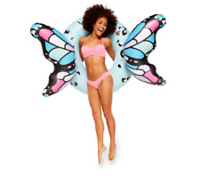 Giant Butterfly Wings Pool Float Raft Tube Beach Party Swimming Toy Adult Fun