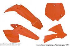 Kit plastiques Coque Racetech KTM SX 65 2002-2008  Couleur Origine