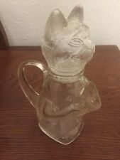 Vintage Cat Pitcher Wmf Decanter Kitty Creamer collectible 8""