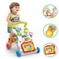 Baby Girl Walking Toy Boy Learning Musical Walker Development Toddler Kids Stand