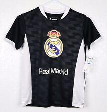 Real Madrid #7 Official T-Shirt Youth Unisex Sz Small Cristiano Ronaldo Black