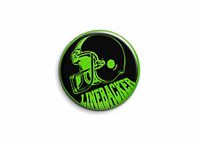 Football américain - Linebacker 1 - Badge 56mm Button Pin