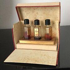 EDITH - 3 Flacons dans leur Boîte Parfum Ancien 1950 - Antique Perfume
