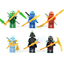 6 × Ninjago Minifigures Figures Set - Building Block compatible Toy