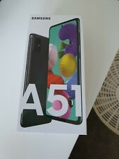 Samsung Galaxy A51 SM-A515F/DSN 128GB - PRISM CRUSH BLACK (Unlocked) Smartphone