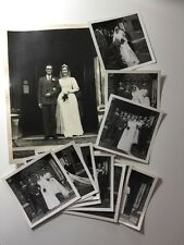 Vintage Real Photograph #AD - 14 Wedding Pictures