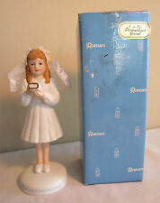 Roman Inc. 1990 My First Communion Standing Girl Ceramic Figurine #45729 In Box