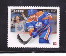 VC22 CANADA #2669c STAMP MINT OG PEELABLE/PERMANENT NHL EDMONTON OILERS
