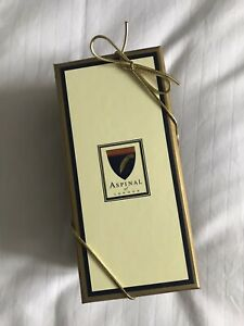 Aspinal Of London Leather Handbag Tidy. Gold. Brand New & Gift Boxed.