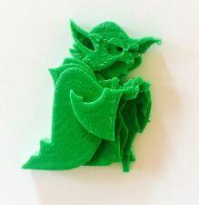 3-D Printed Yoda Star Wars Figurine 4x5 cm Cute Last Jedi Alien Science Fiction