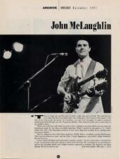 John McLaughlin Downbeat Clipping TRANSPARENT