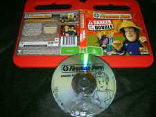 Dvd *FIREMAN SAM : DANGER BY THE DOUBLE 6 Episodes* Australian ABC For Kids Iss