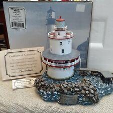 Harbour Lights Lighthouse Brandywine Shoal #295 Nj 1104/5500 Mint/Coa/Box Origin