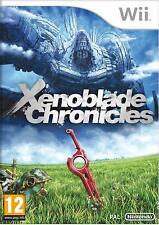 Xenoblade Chronicles - Nintendo Wii COMPLETE