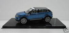 Original range rover coche modelo evoque mauritus Blue 5 türig 1:43 51 lrdca 5 Evoq