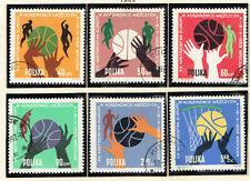 Poland Sport Basketboll 1963 FIBA European Championship set