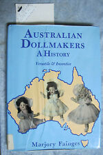 signed copy Australian Dollmakers : A History - Marjory Fainges OzSellerFastPost
