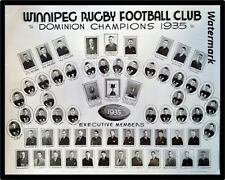 1935 CFL MRFU Grey Cup Champs Winnipeg Football Club 8 X 10 Photo Free Shipping
