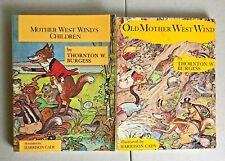 Thornton Burgess MOTHER WEST WIND'S CHILDREN West Wind