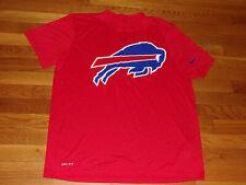 Nike Dri-Fit Buffalo Bills Short Sleeve Jersey Mens Xl Excellent Condition