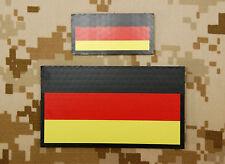 IR German Flag Standard & Mini Patch Set Kommando Spezialkräfte KSK Infrared