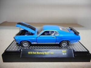 FORD MUSTANG MACH 1 1970 M2 MACHINES 1:64