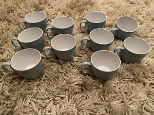 Swifts of Exeter Midcentury Melamine Picnic Cups x 10 Pieces Rare Vintage Retro