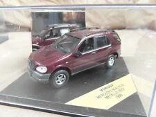 SKID VITESSE / V98007 / MERCEDES M-KLASSE METALLIC RED 1998