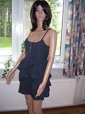 Roxy Minikleid Sommerkleid XGWDR154  grau  dunkelgrau Gr  M neu