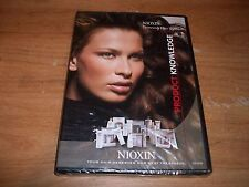Nioxin Thinning Hair Treatment System Product Knowledge Information DVD NEW