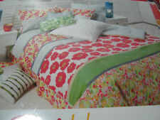 """NEW STYLE HAPPY TWIN BEDSKIRT FLORAL MULTI COLOR 15""""Drop NIP"""