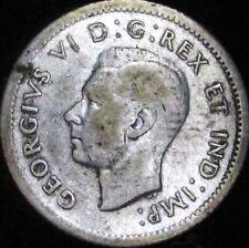 1939 Fine Canada Silver 10 Cents - KM# 41 - Free Shipping - JG