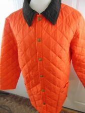Barbour Men's Heritage Liddesdale Jacket Orange Medium New With Tags