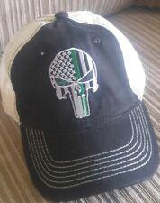 Punisher Trucker Cap Low Profile Mesh Snapback Adustable Hat Punisher Cap